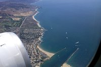 Newport Beach from the air